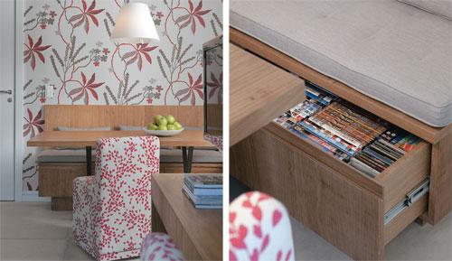 Sala De Jantar Banco Em L ~ Canto alemão, banco ou sofá na sala de jantar!  Comprando Meu Apê